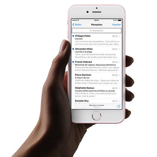 Smartphone et téléphone mobile Apple iPhone 6s (gris sidéral) - 128 Go - Autre vue