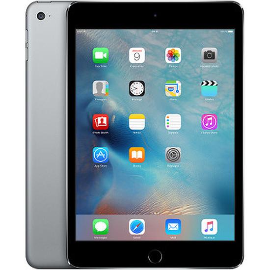 Tablette Apple iPad Mini 4 - Wi-Fi + Cellular - 128Go - Gris