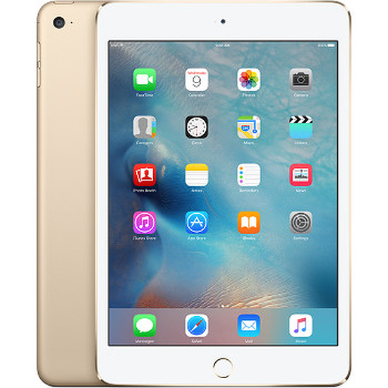 Tablette Apple iPad mini 4 - Wi-Fi +Cellular - 128 Go - Or