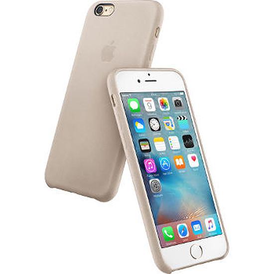 Coque et housse Apple Coque Leather Case iPhone 6s - gris rose