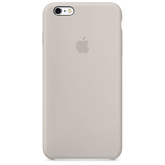 Coque et housse Apple Coque Silicone Case iPhone 6/6s - gris sable