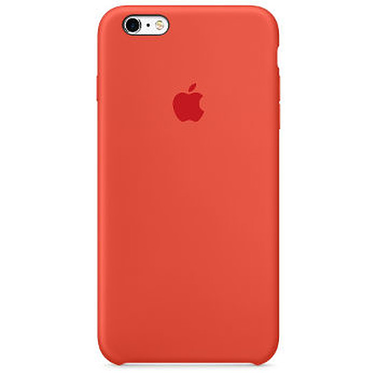 Coque et housse Apple Coque Silicone Case iPhone 6/6s - orange