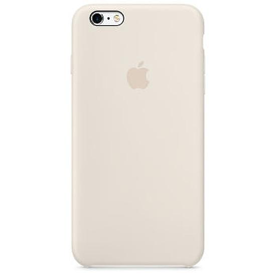 Coque et housse Apple Coque Silicone iPhone 6 Plus/6s Plus-blanc antique