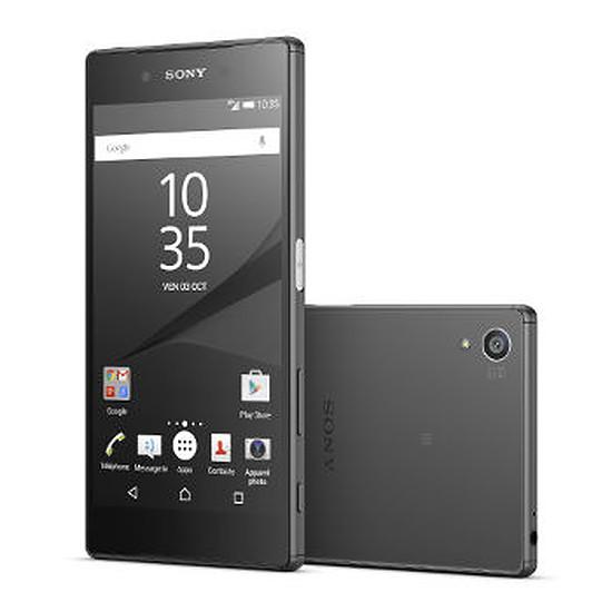 Smartphone et téléphone mobile Sony Mobile Xperia Z5 (noir)