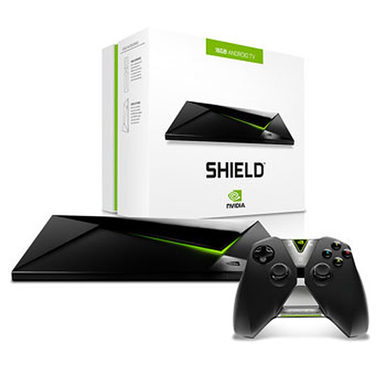 Box TV multimédia NVIDIA Shield Android TV - 16 Go