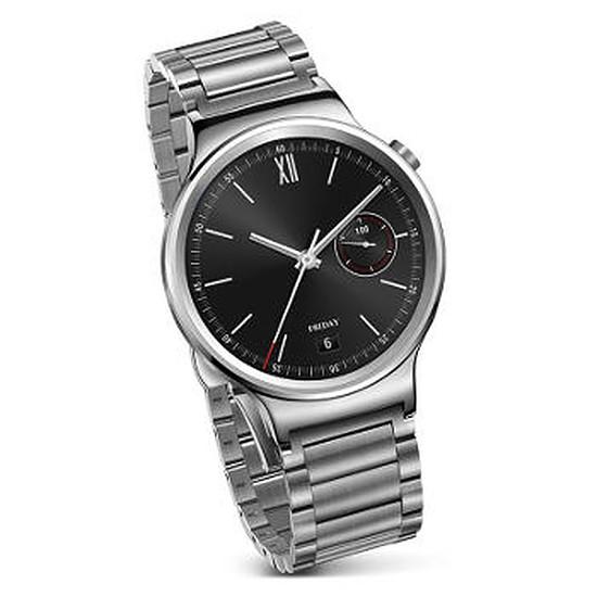 Montre connectée Huawei Watch Classic (argent - bracelet acier)