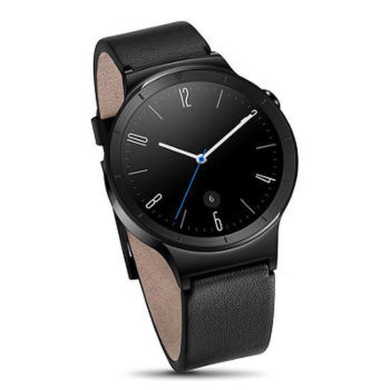 Montre connectée Huawei Watch Active (noir - bracelet cuir)
