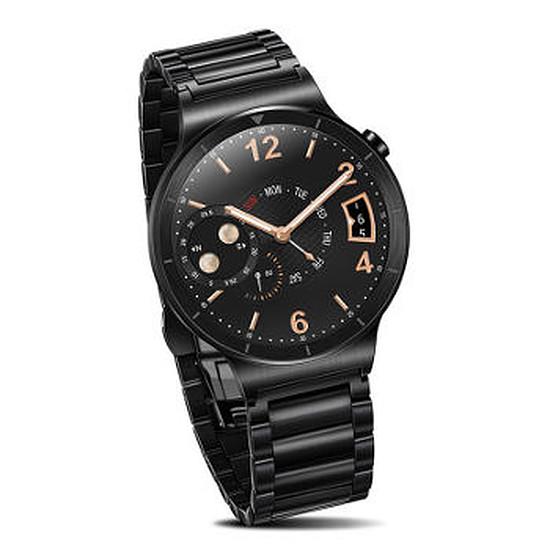Montre connectée Huawei Watch Active (noir- bracelet acier)
