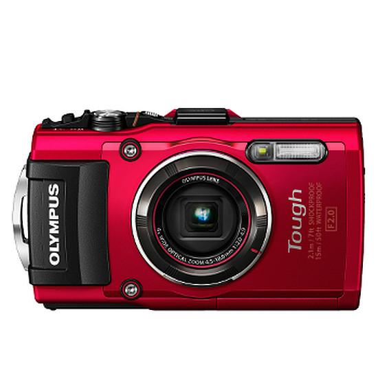 Appareil photo compact ou bridge Olympus Tough TG-4 Rouge