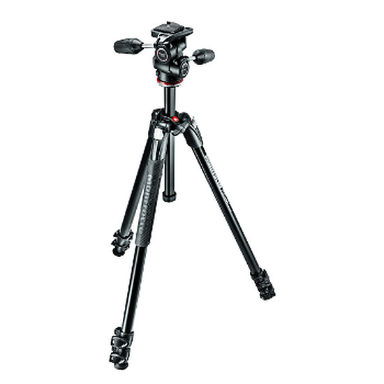 Trépied appareil photo Manfrotto Trépied 290 XTRA, alu 3 sections + rotule 3D