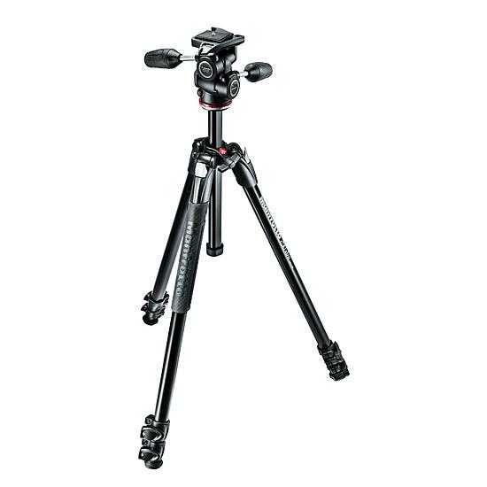 Trépied appareil photo Manfrotto Trépied 290 XTRA, alu 3 sections + rotule 3D - Autre vue