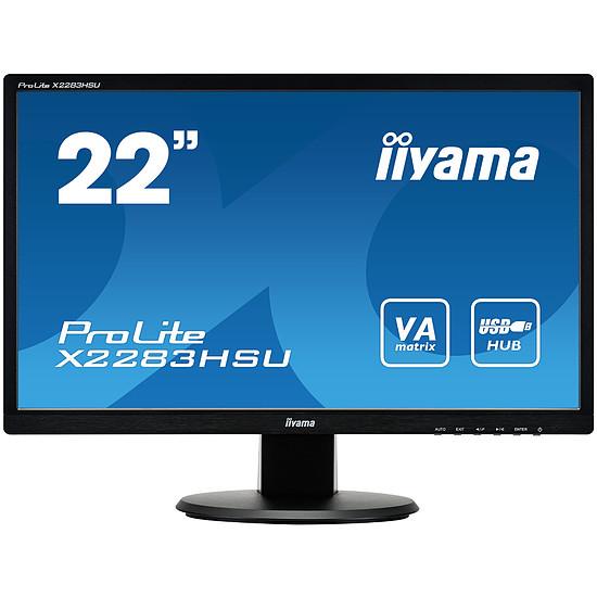 Écran PC Iiyama ProLite X2283HSU-B1DP - Autre vue