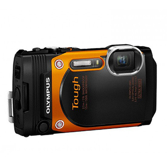 Appareil photo compact ou bridge Olympus Tough TG-860 Orange
