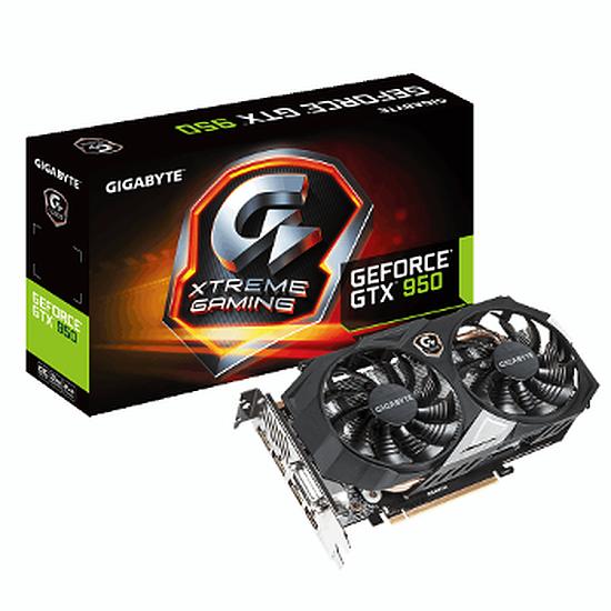 Carte graphique Gigabyte GeForce GTX 950 Xtreme - 2 Go