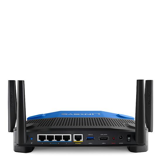 Routeur et modem Linksys WRT1900ACS - Routeur Gigabit WiFi AC1900 double - Autre vue