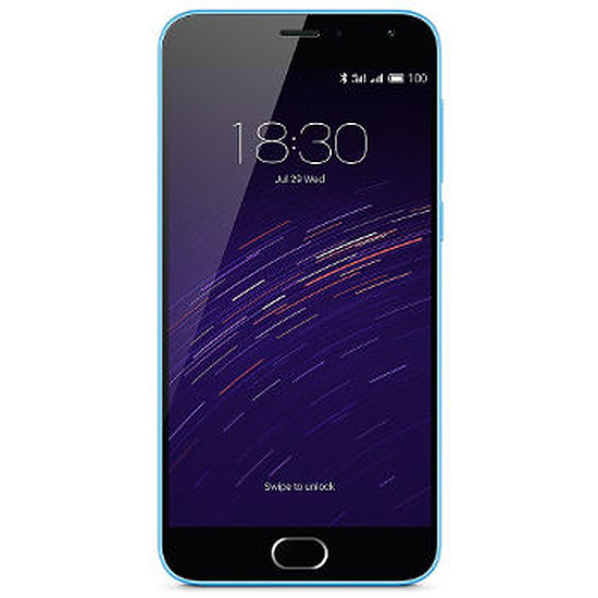 Smartphone et téléphone mobile Meizu M2 (bleu)