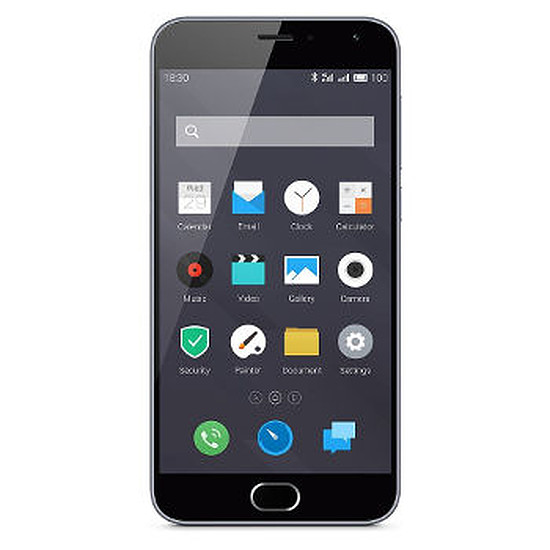 Smartphone et téléphone mobile Meizu M2 (gris)