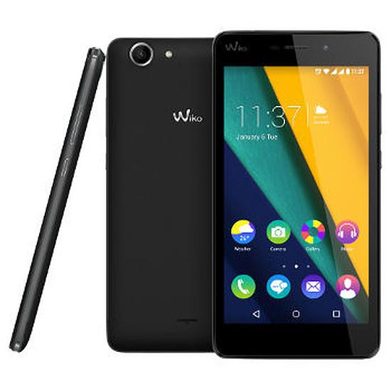Smartphone et téléphone mobile Wiko Pulp FAB 4G (noir)