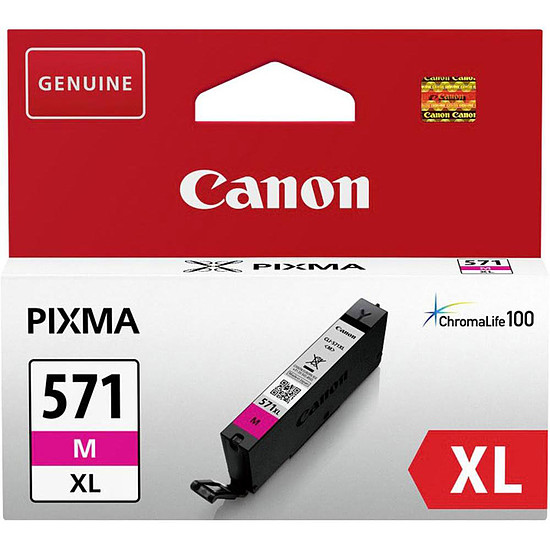 Cartouche imprimante Canon CLI-571 Magenta XL