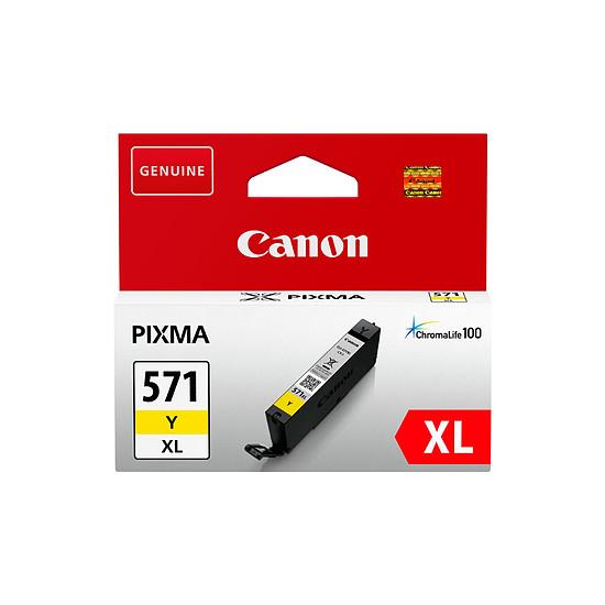 Cartouche imprimante Canon CLI-571 Jaune XL