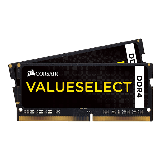 Mémoire Corsair ValueSelect SO-DIMM DDR4 2 x 8 Go 3000 MHz CAS 16