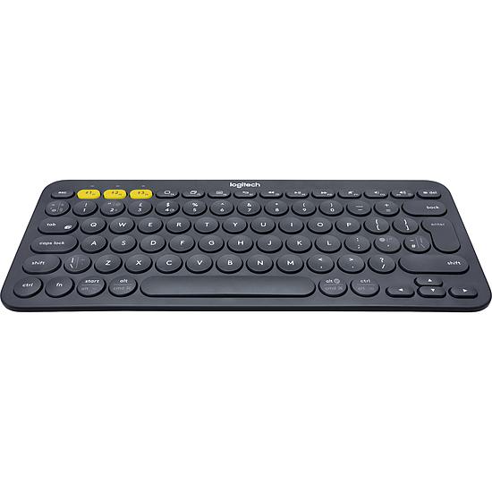 Clavier PC Logitech K380 Multi-Device - Gris - Autre vue