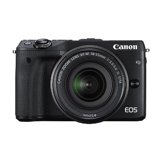 Appareil photo hybride Canon EOS M3 + EF-M 18-55 IS STM