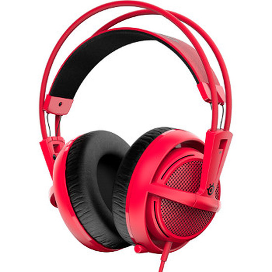 Casque micro SteelSeries Siberia 200 - Forged Red