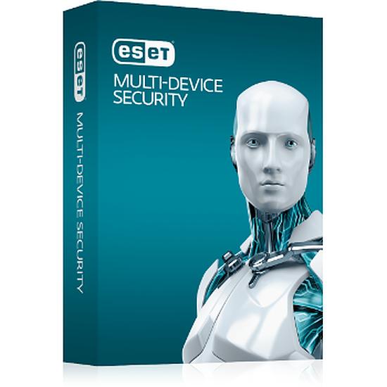Antivirus et sécurité ESET Multi-Device Security (1 an - 3 postes)