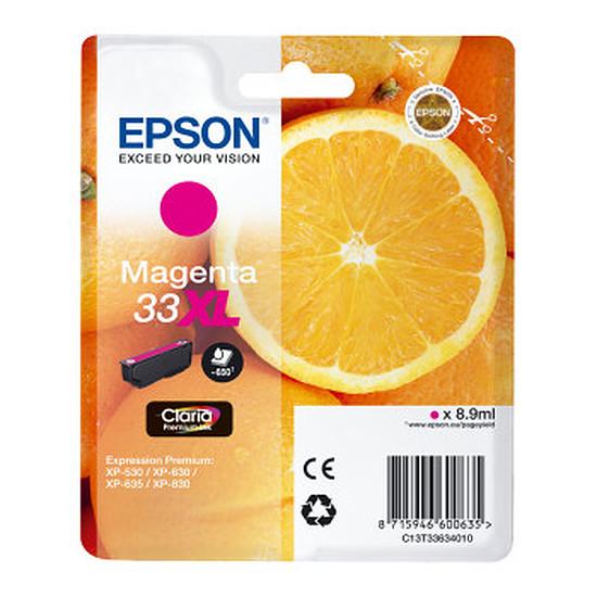 Cartouche imprimante Epson 33XL Magenta - C13T33634010