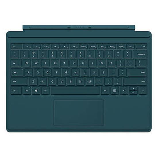 Accessoires tablette tactile Microsoft Clavier Type Cover pour Surface Pro 4 - bleu-vert