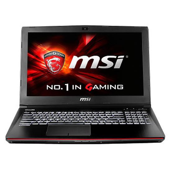 PC portable MSI GE62 2QC-644FR - i7 - 8 Go - SSD - GTX960M
