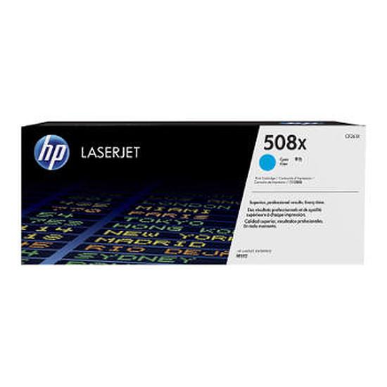 Toner imprimante HP 508X - Cyan haute capacité