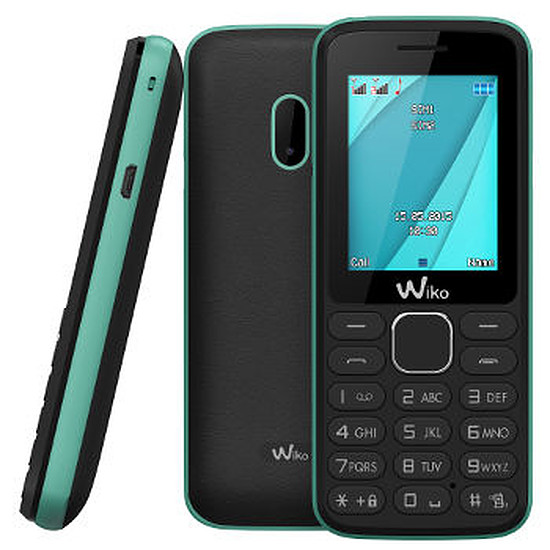 Smartphone et téléphone mobile Wiko Lubi 4 (noir / menthe)