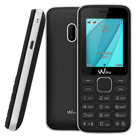 Smartphone et téléphone mobile Wiko Lubi 4 (noir / blanc)