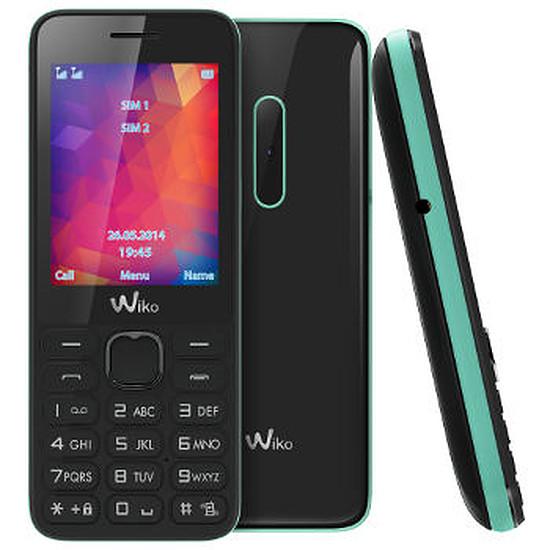 Smartphone et téléphone mobile Wiko RIFF 2 (noir / menthe)