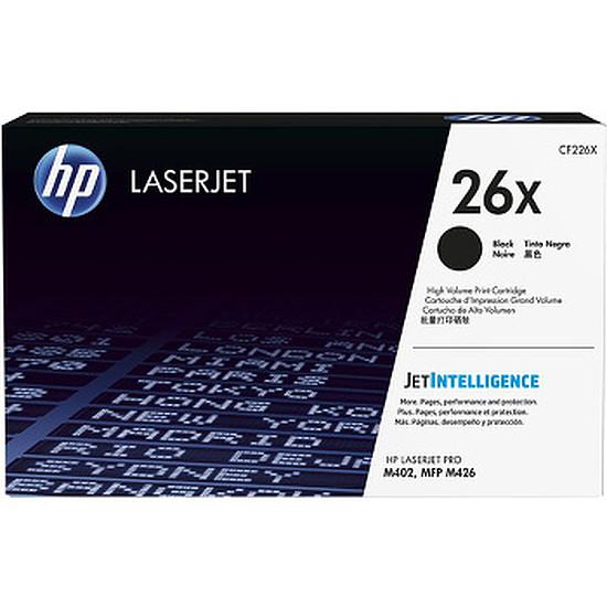 Toner imprimante HP 26X - CF226X Noir Haute capacité