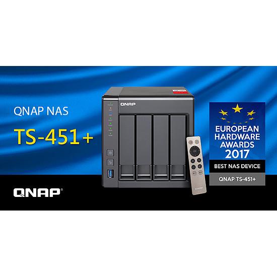 Serveur NAS QNAP NAS TS-451+ - Autre vue
