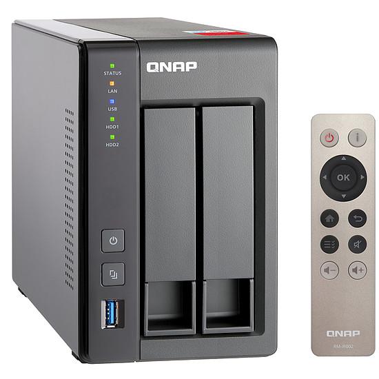 Serveur NAS QNAP NAS TS-251+ - 2 Go - Autre vue