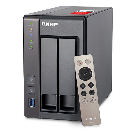 Serveur NAS QNAP NAS TS-251+ - 8 Go - Autre vue