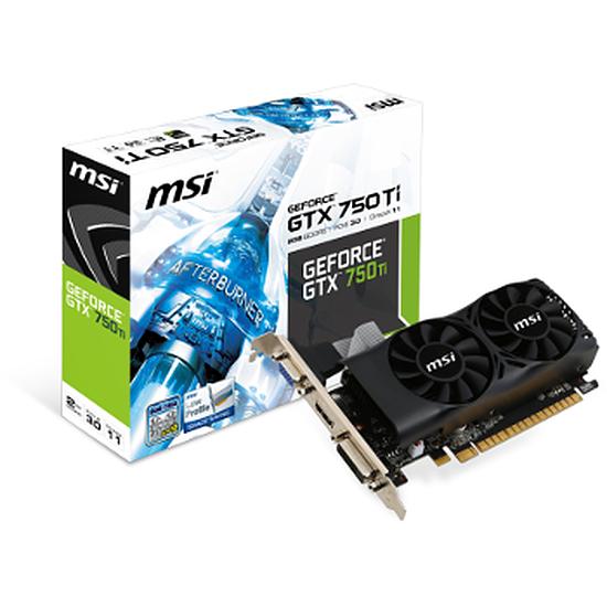 Carte graphique MSI GeForce GTX 750 Ti - 2 Go