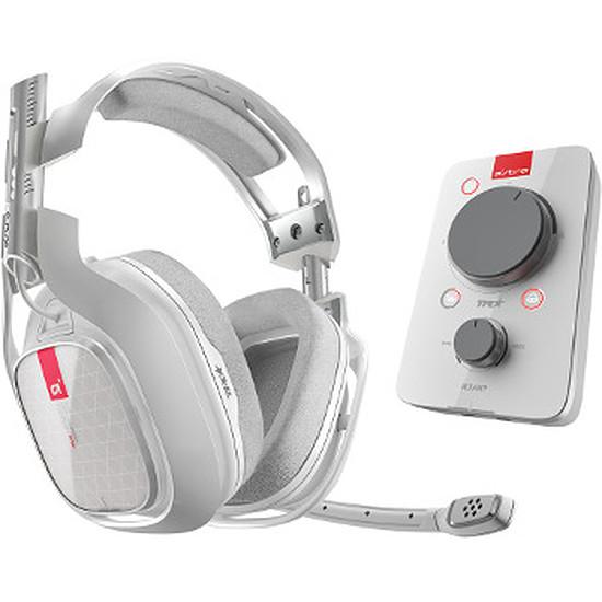 Casque micro Astro Gaming A40 TR + MixAmp Pro TR - Blanc