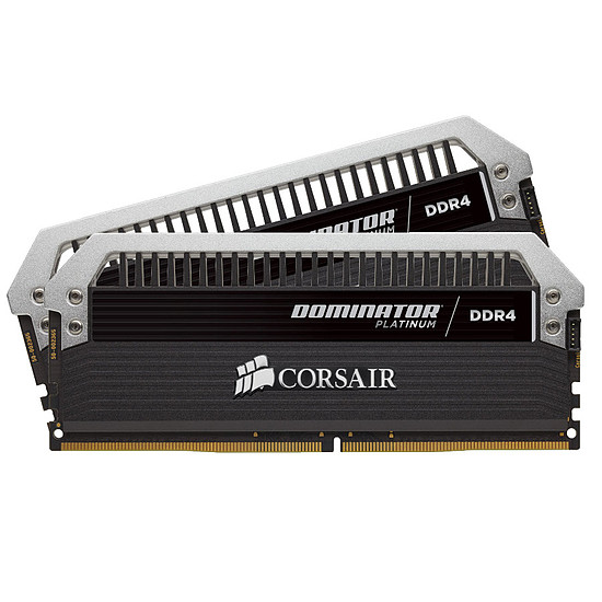 Mémoire Corsair Dominator Platinum DDR4 2 x 16 Go 2666 MHz CAS 15