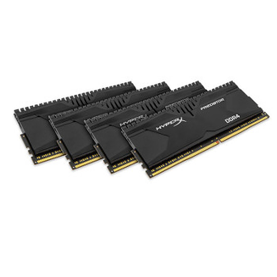 Mémoire Kingston HyperX Predator DDR4 4 x 16 Go 3000 MHz CAS 16