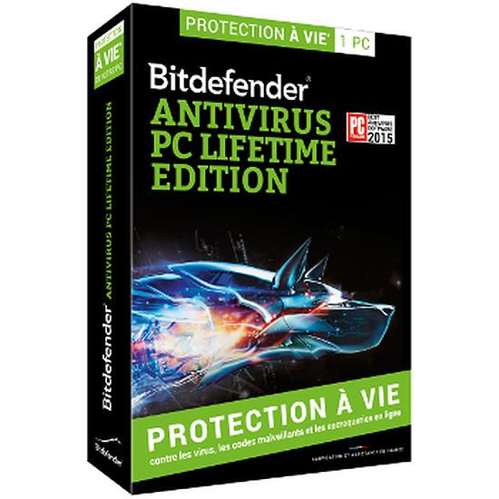 Antivirus et sécurité Bitdefender Antivirus PC Lifetime Edition - 1 poste - A vie