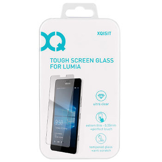 Protection d'écran Xqisit Film en verre trempé - Microsoft Lumia 550