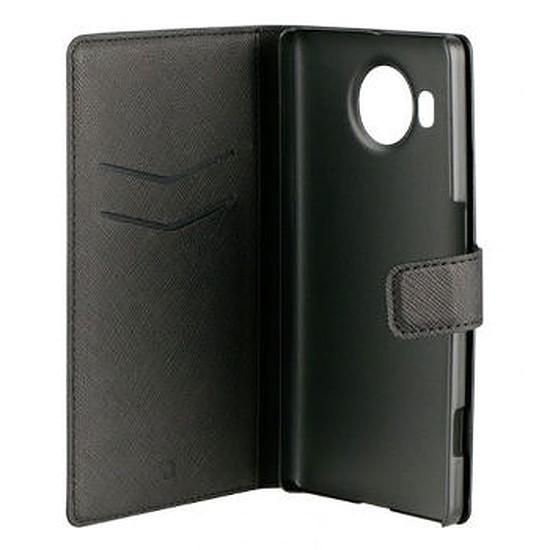 Coque et housse Xqisit Folio wallet case (noir) - Microsoft Lumia 950 XL