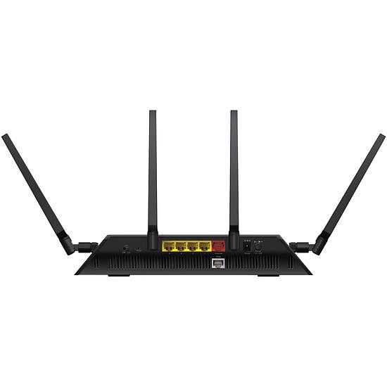 Routeur et modem Netgear D7800 - Modem routeur WiFi AC2600 Nighthawk X4S - Autre vue