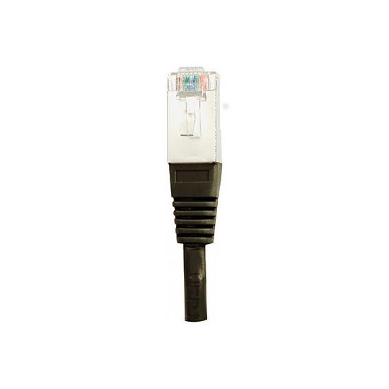 Câble RJ45 Cable RJ45 Cat 5e FTP (noir) - 1 m - Autre vue