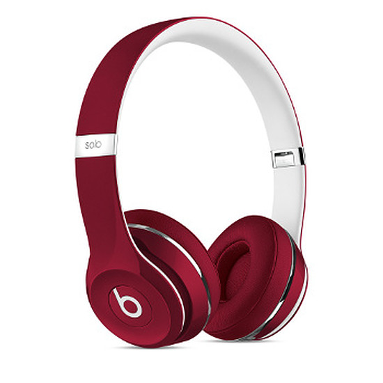 Casque Audio Beats Solo 2 - Luxe Edition Rouge